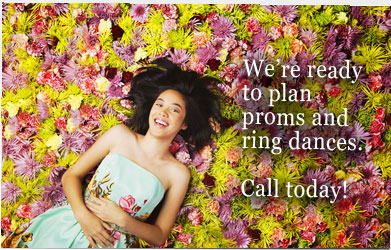 Premier Events does fabulous prom and ring dance themes